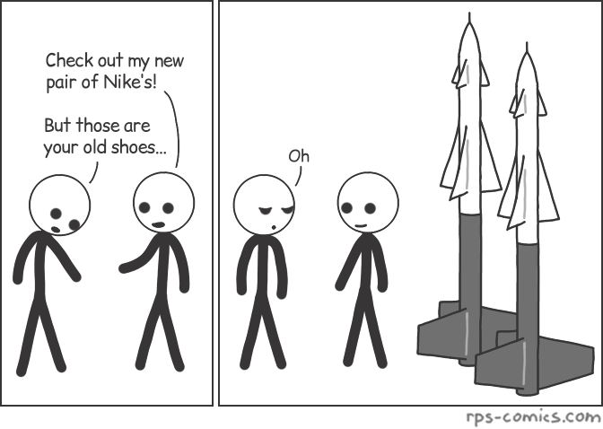 New Pair of Nikes