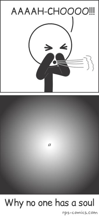 Sneezing Alone