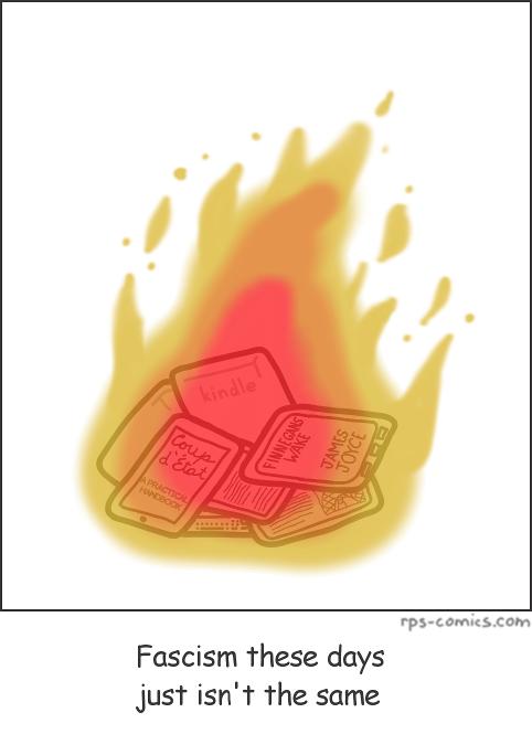 Fascist Bonfire