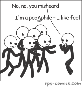 Pedaphile