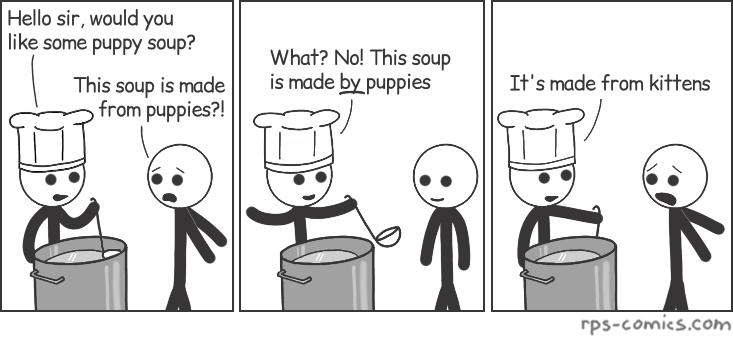 Puppy Soup
